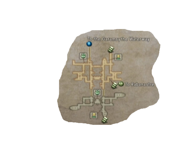 final fantasy xii lowtown map