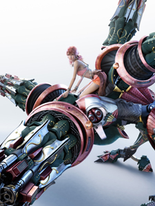 final fantasy xiii eidolon hecatoncheir