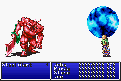 final fantasy ii advance screen