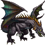 final fantasy ii black dragon