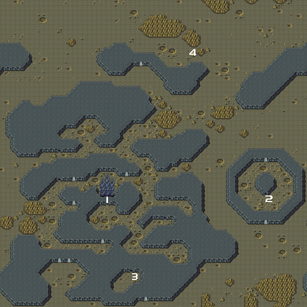 final fantasy iv advance map lunar world