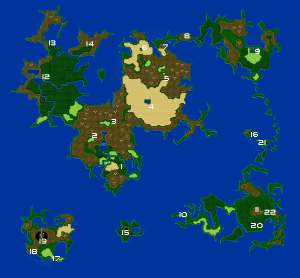 final fantasy iv advance map overworld