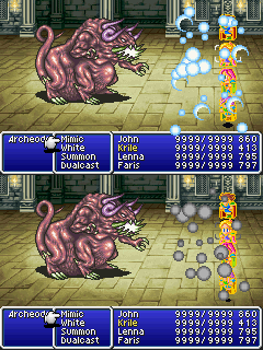 final fantasy v advance archeodemon
