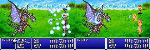 final fantasy v advance bahamut