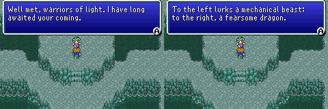 final fantasy v advance hall of tranquility