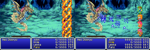 final fantasy v advance neo shinryu