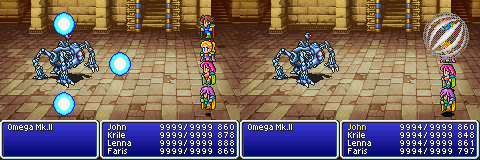 final fantasy v advance Omega Mk II