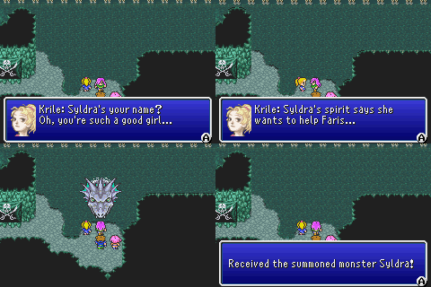 final fantasy v advance odin