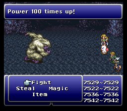 final fantasy vi advance boss yeti