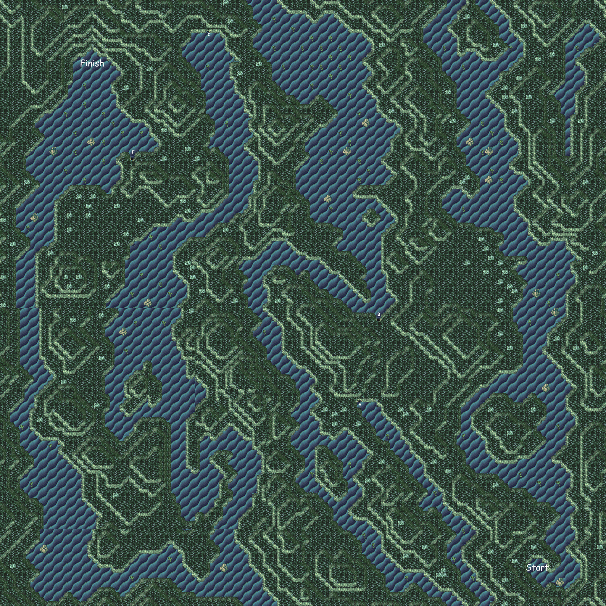 final fantasy vi serpent's trench map