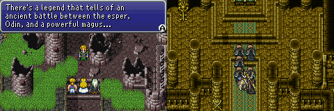 final fantasy vi ancient castle