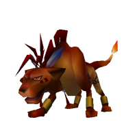 final fantasy vii character red xiii