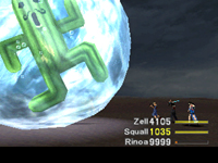 final fantasy kingdom, final fantasy viii jumbo Cactuar fight