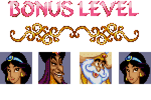 aladdin level bonus password
