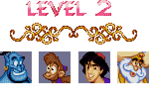 aladdin level 2 password