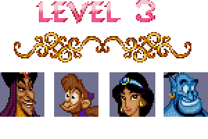 aladdin level 3 password