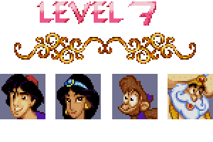 aladdin level 7 password