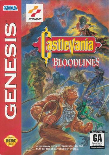 castlevania bloodlines cover