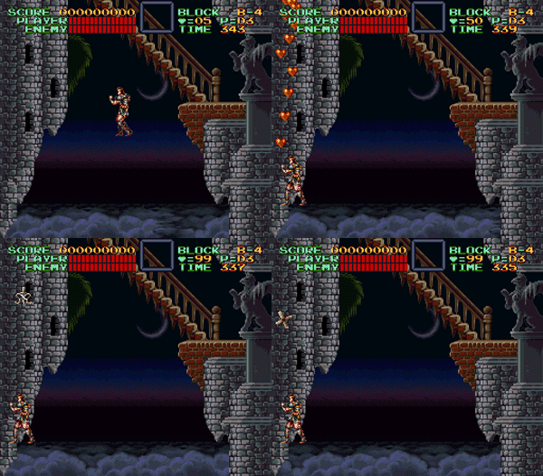 castlevania iv secret