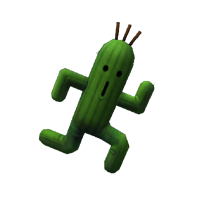 dirge of cerberus enemy cactuar