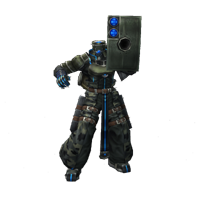 dirge of cerberus enemy Heavy Armored soldier b