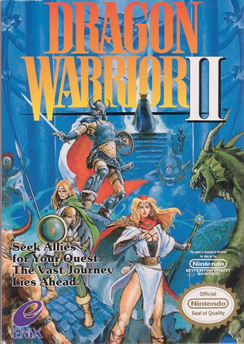 dragon warrior ii cover