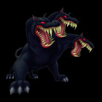 kingdom hearts boss cerberus