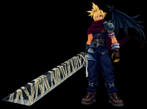 kingdom hearts coliseum cloud
