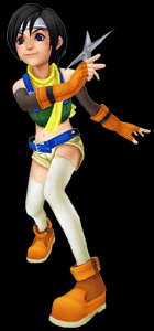 kingdom hearts coliseum yuffie