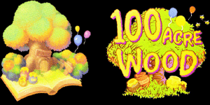 kingdom hearts II 100 acre wood logo