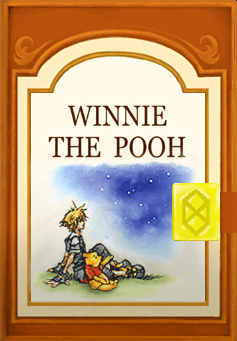 kingdom hearts II 100 acre wood complete book