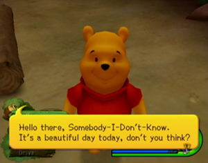kingdom hearts ii 100 acre woods