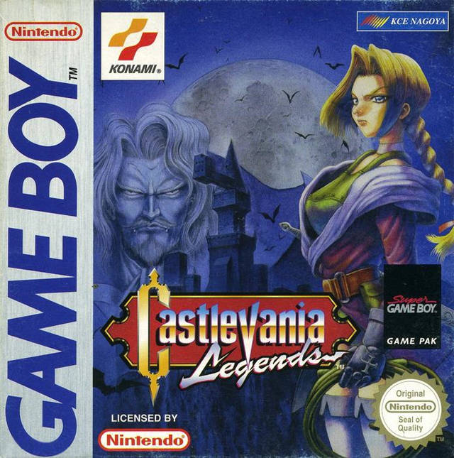 castlevania legends cover