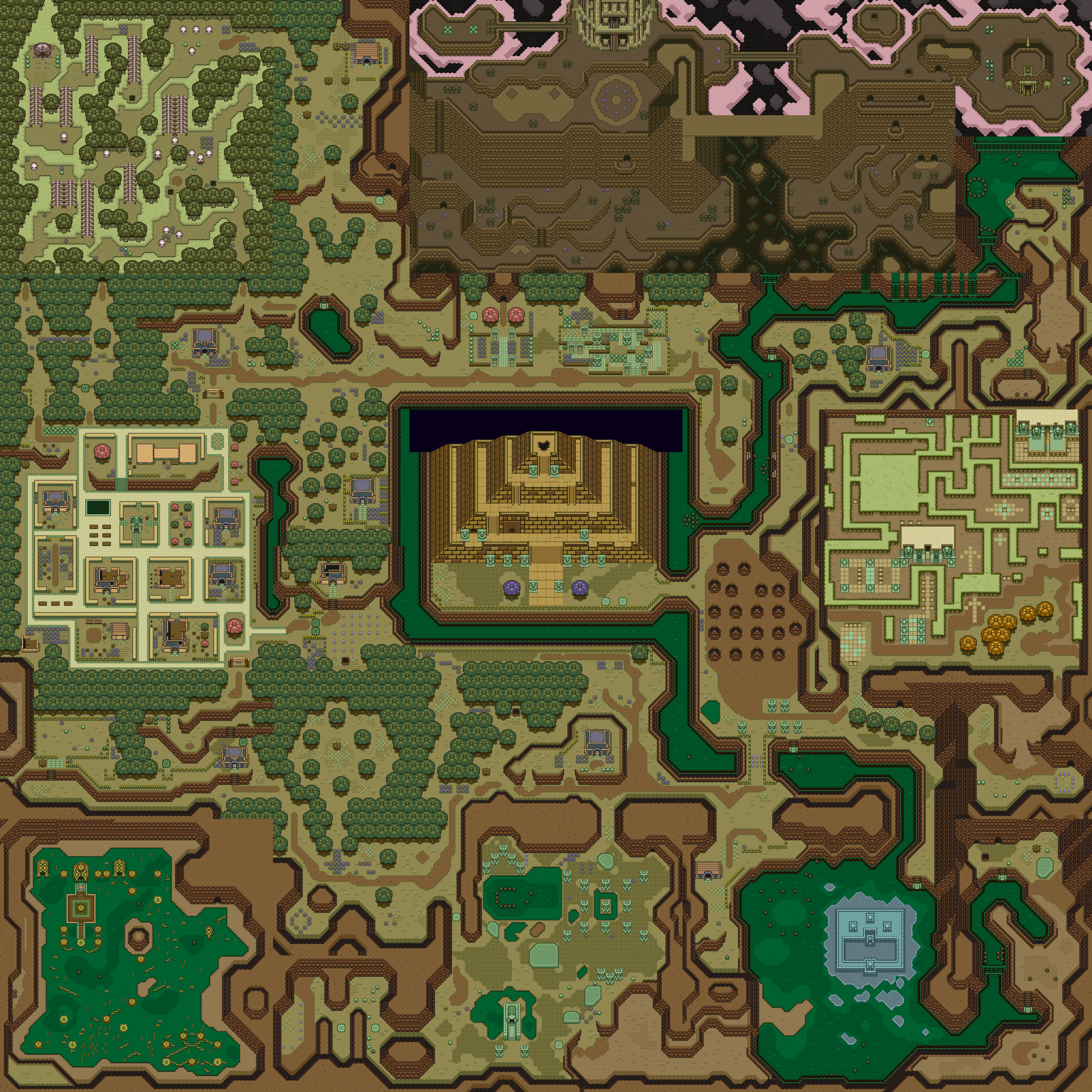a link to the past map